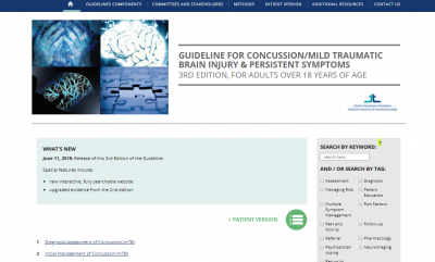 Brain Injury Guidelines - Concussion