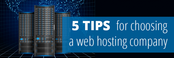 5 tips choosing web hosting company