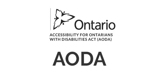 Accessibility for Ontarians with Disabilities Act (AODA) logo type image