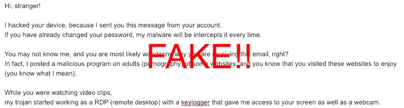 Don't fall for these fake emails