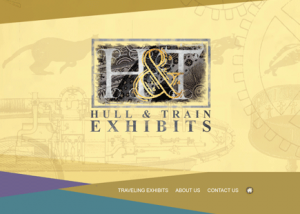 Hull & Train - website design - website development
