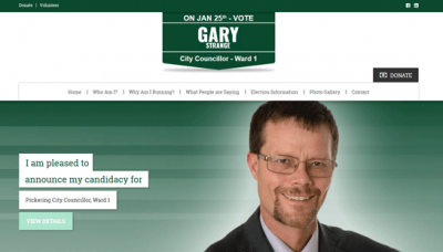 Gary Strange - website development